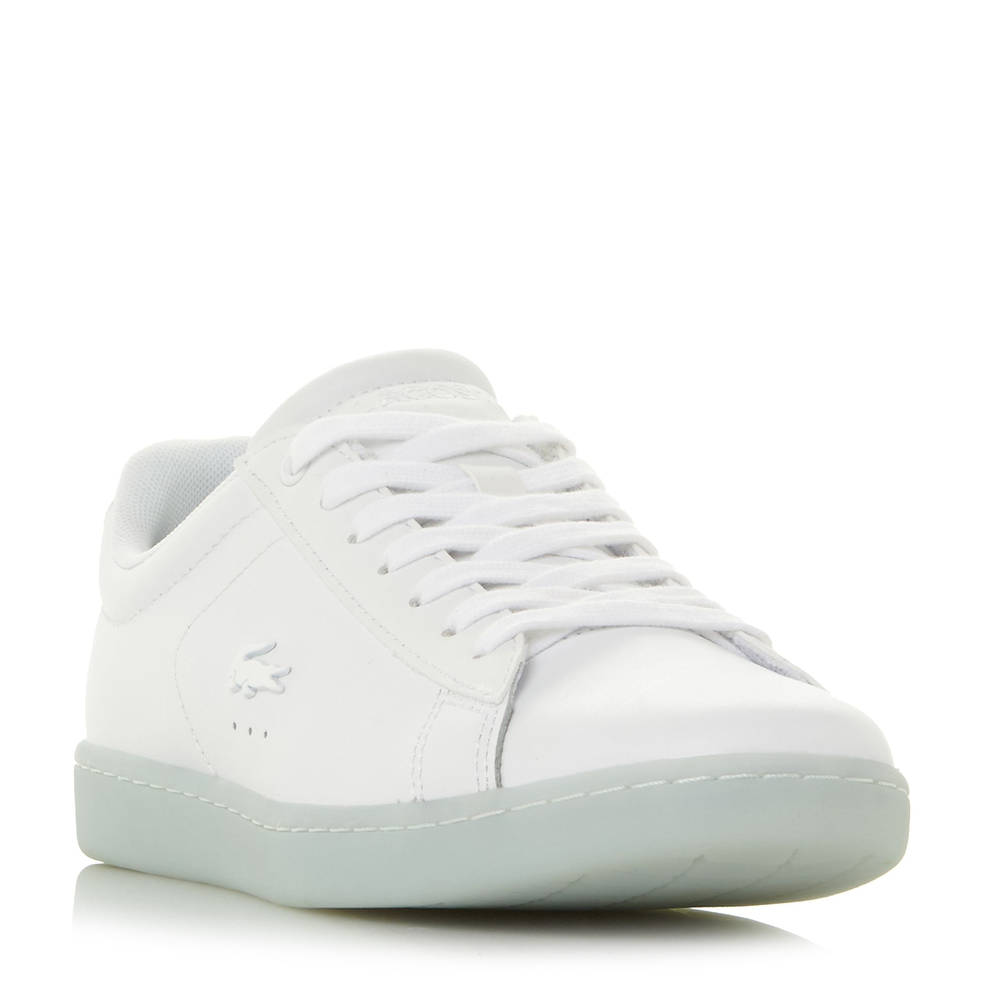 Lacoste Carnaby Evo 118 Lace Up Trainers, Blue