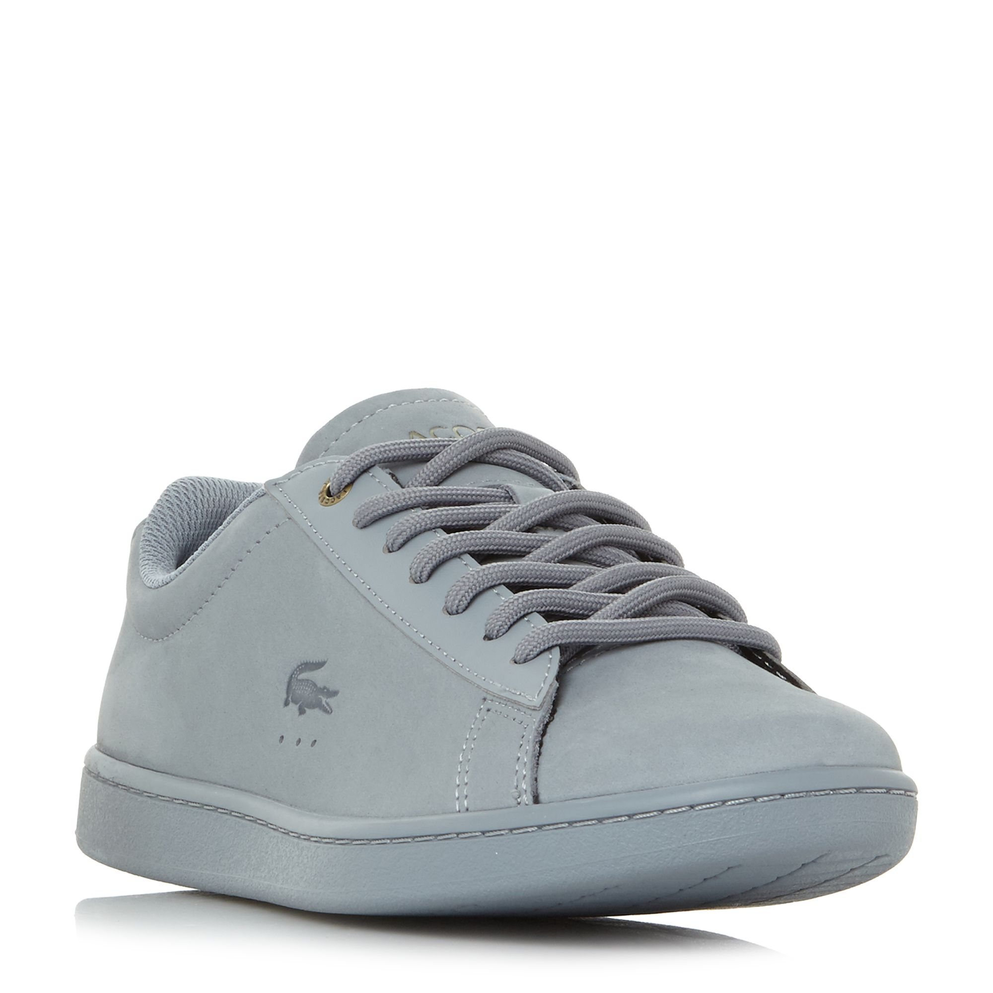 Lacoste Carnaby Evo 118 Tonal Lace Up Trainers, Blue