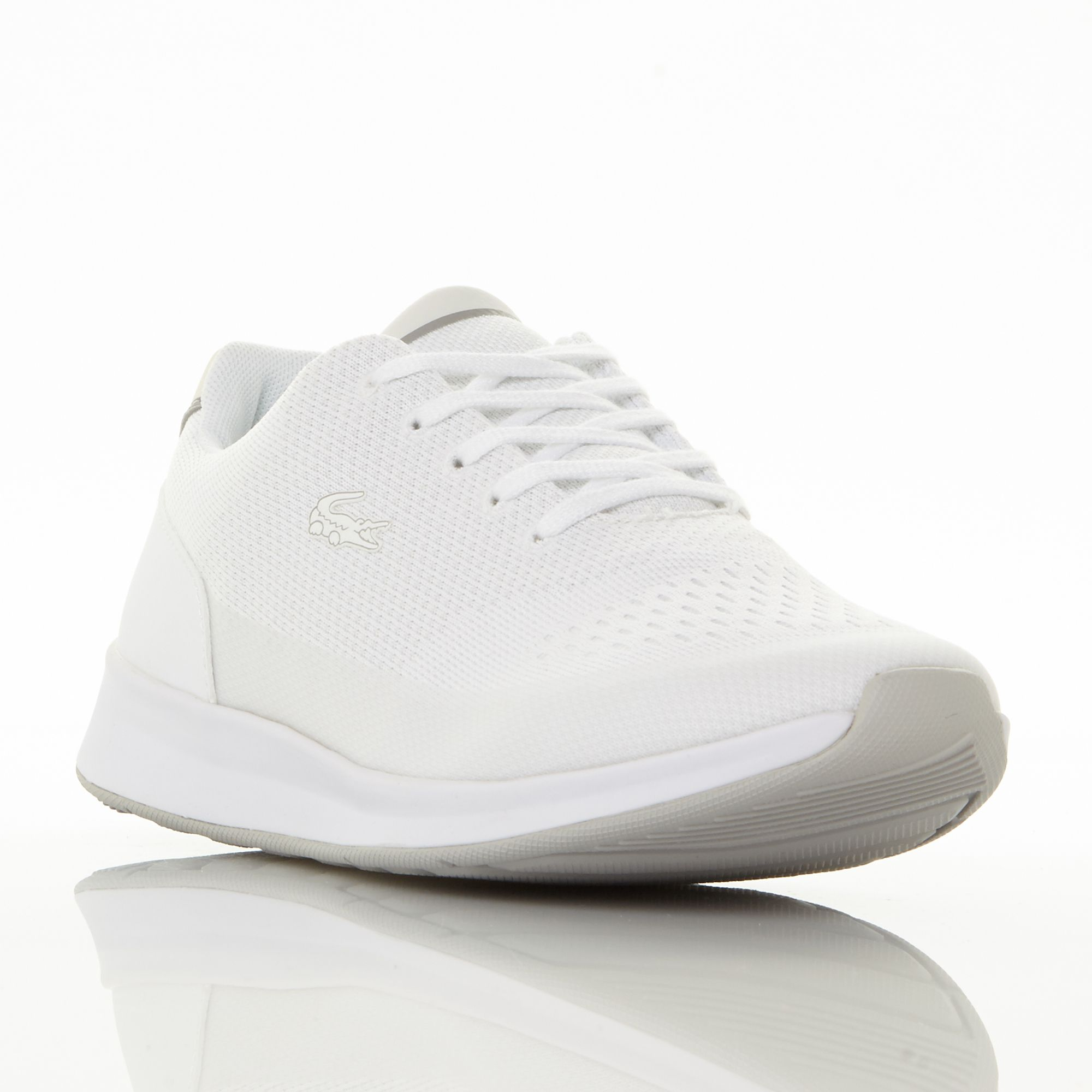 Lacoste Chaumont Knitted Runner Trainers, White