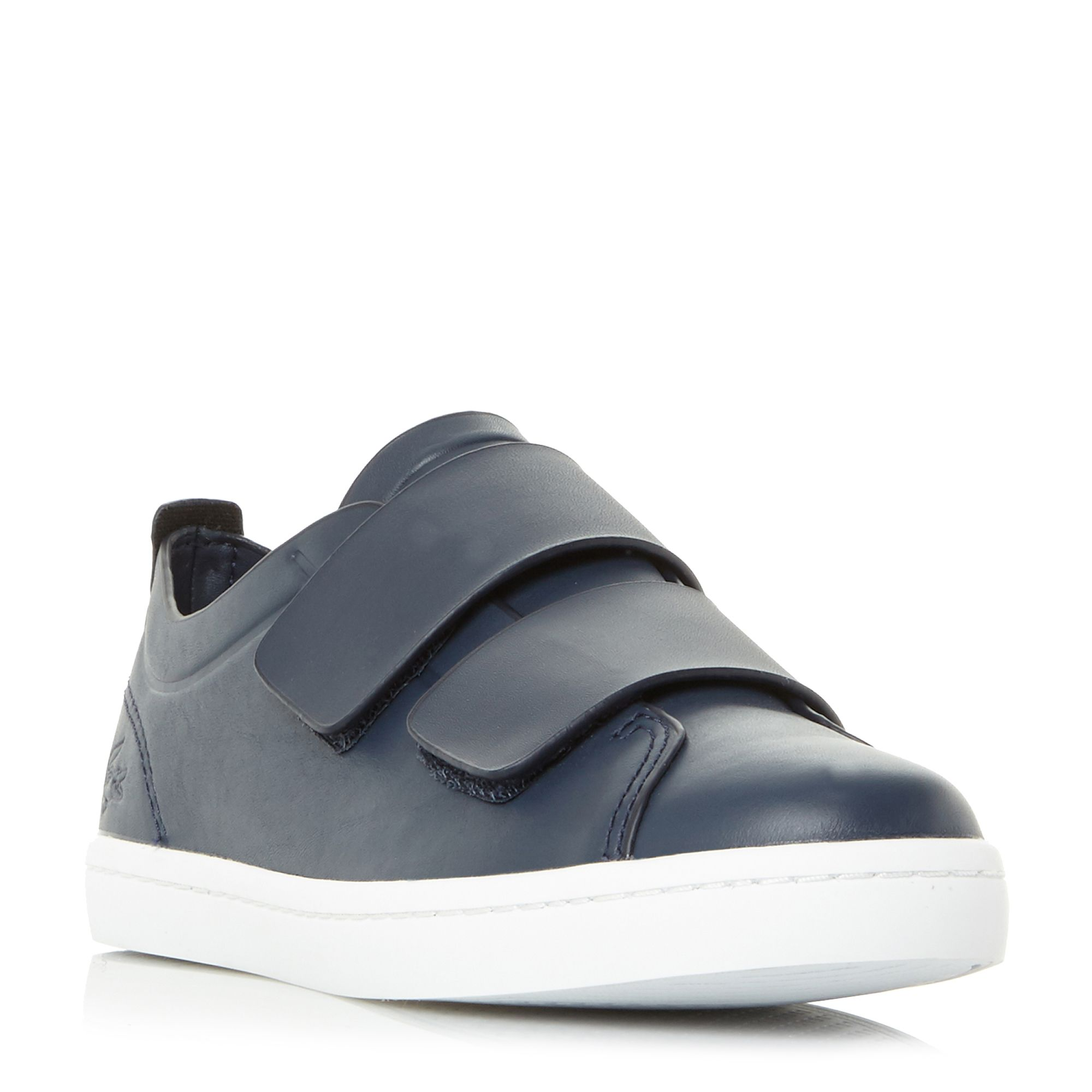 Lacoste Straightset Velcro Strap Trainers, Blue