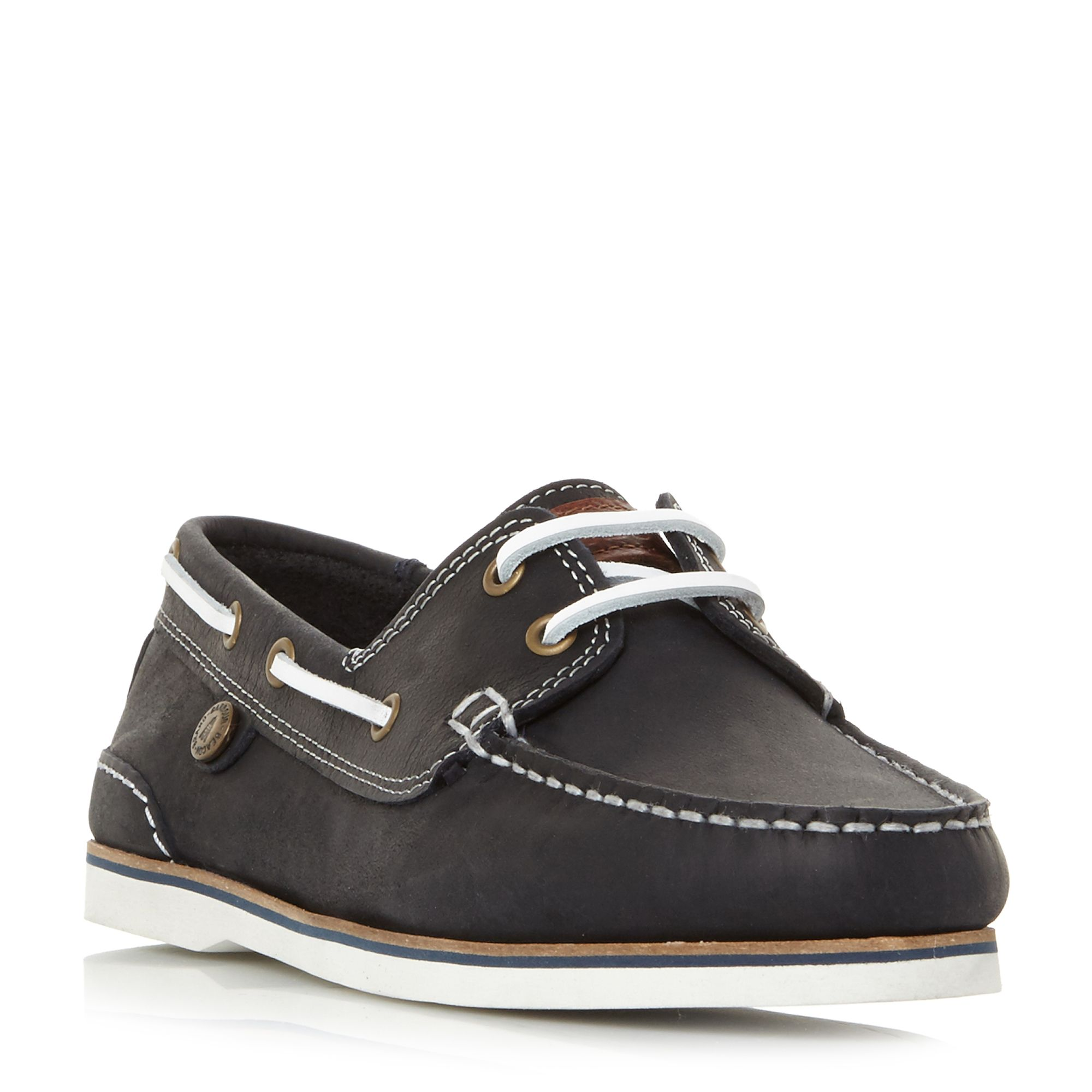 Barbour Bowline Boat Shoes, Blue