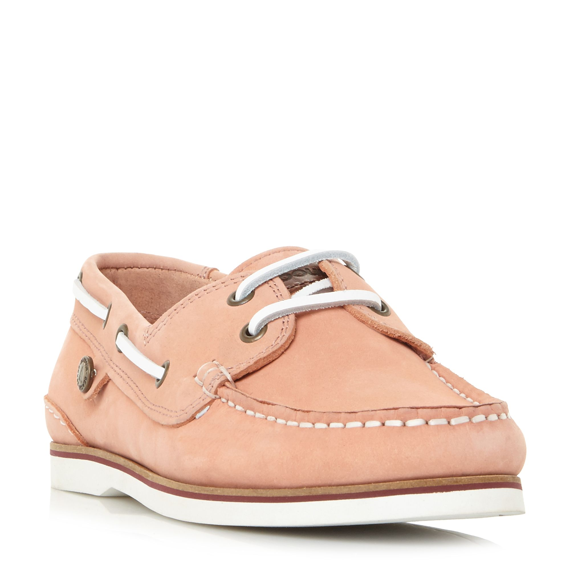 Barbour Bowline Boat Shoes, Nude