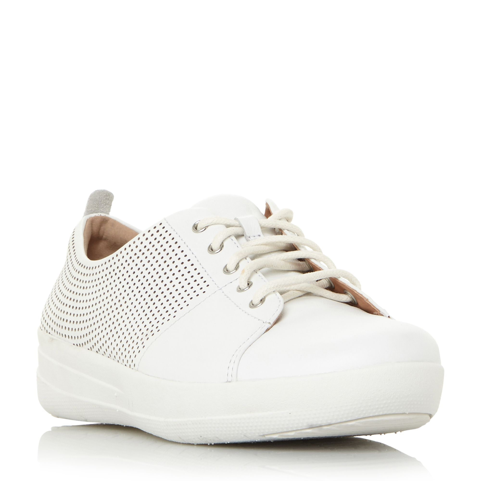 FitFlop F-Sporty Ii Lace Up Trainers, White