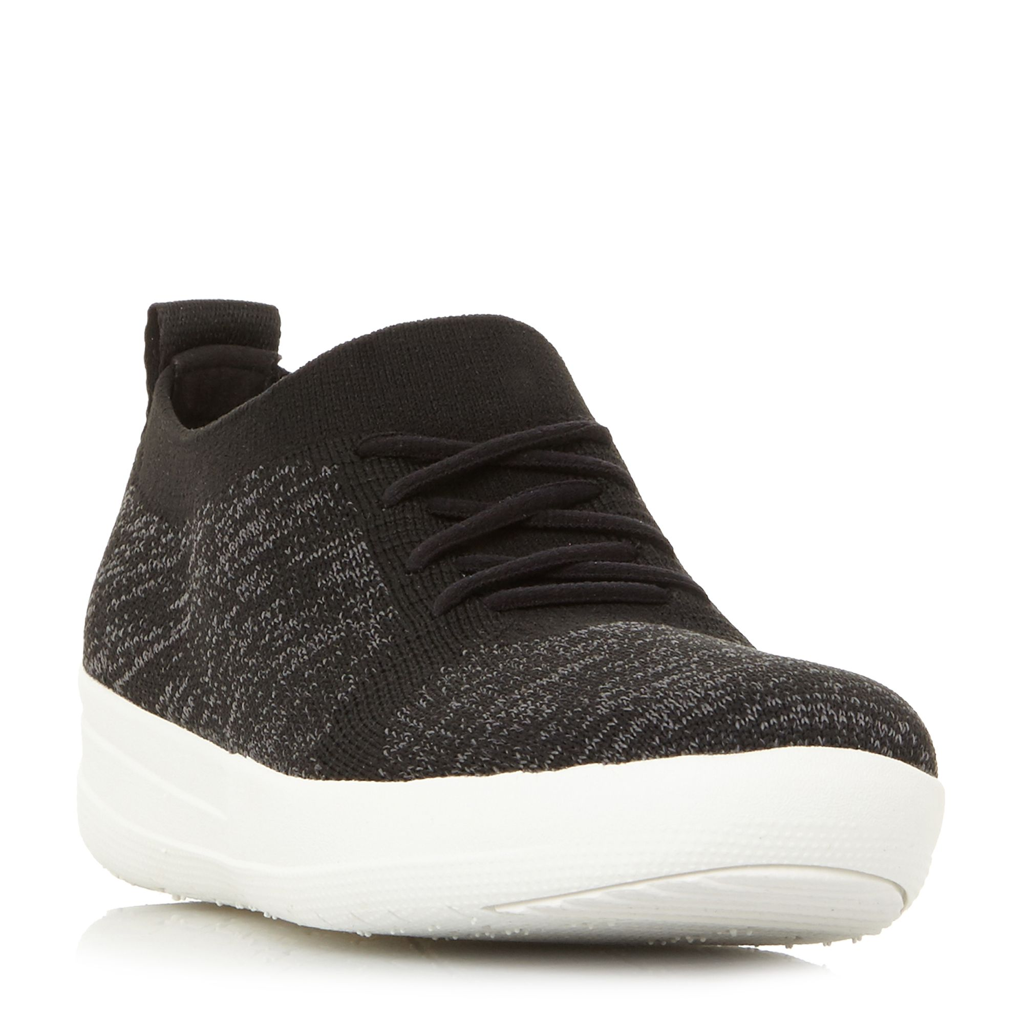 FitFlop F-Sporty Lace Up Trainers, Jet