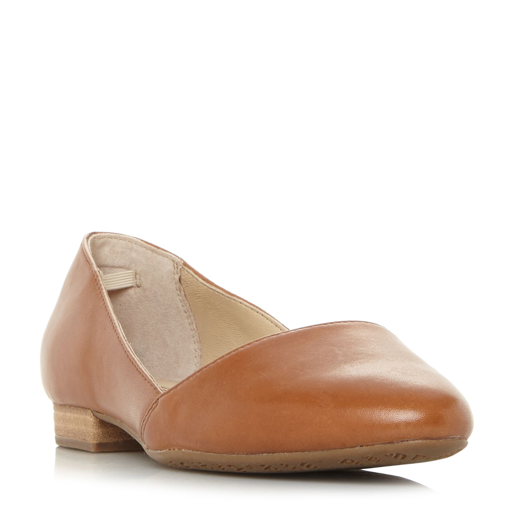 Hush Puppies Jovanna Phoebe Leather Pump Shoes, Tan