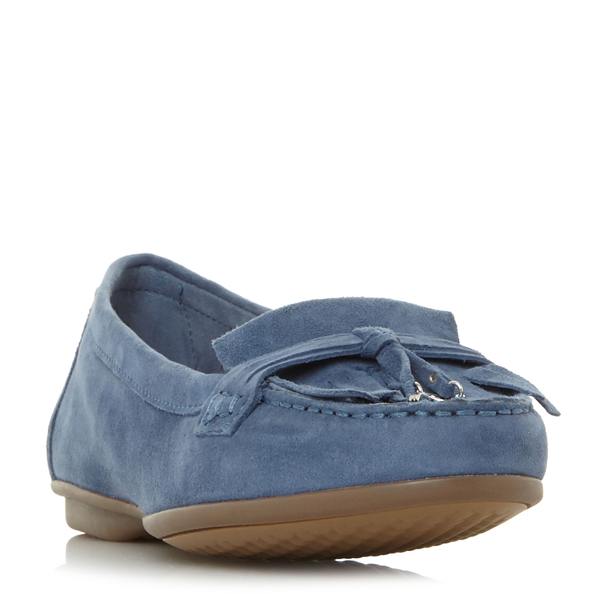 Hush Puppies Naveen Robyn Fringe Tassel Loafer Shoes, Blue