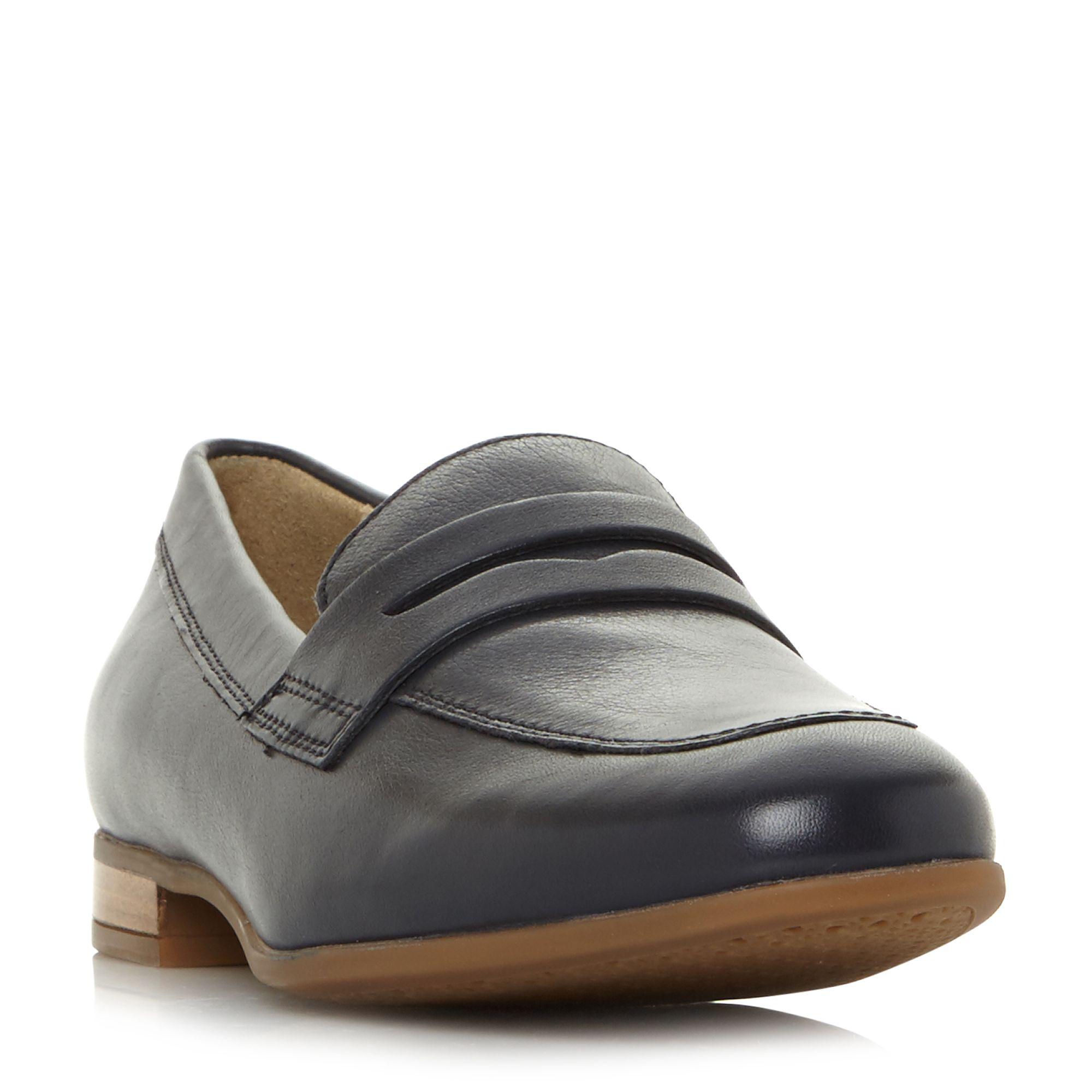 Geox D Marlyna B Penny Loafers, Blue