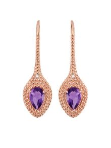 Gemporia Amethyst earrings