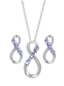 Gemporia Tanzanite set
