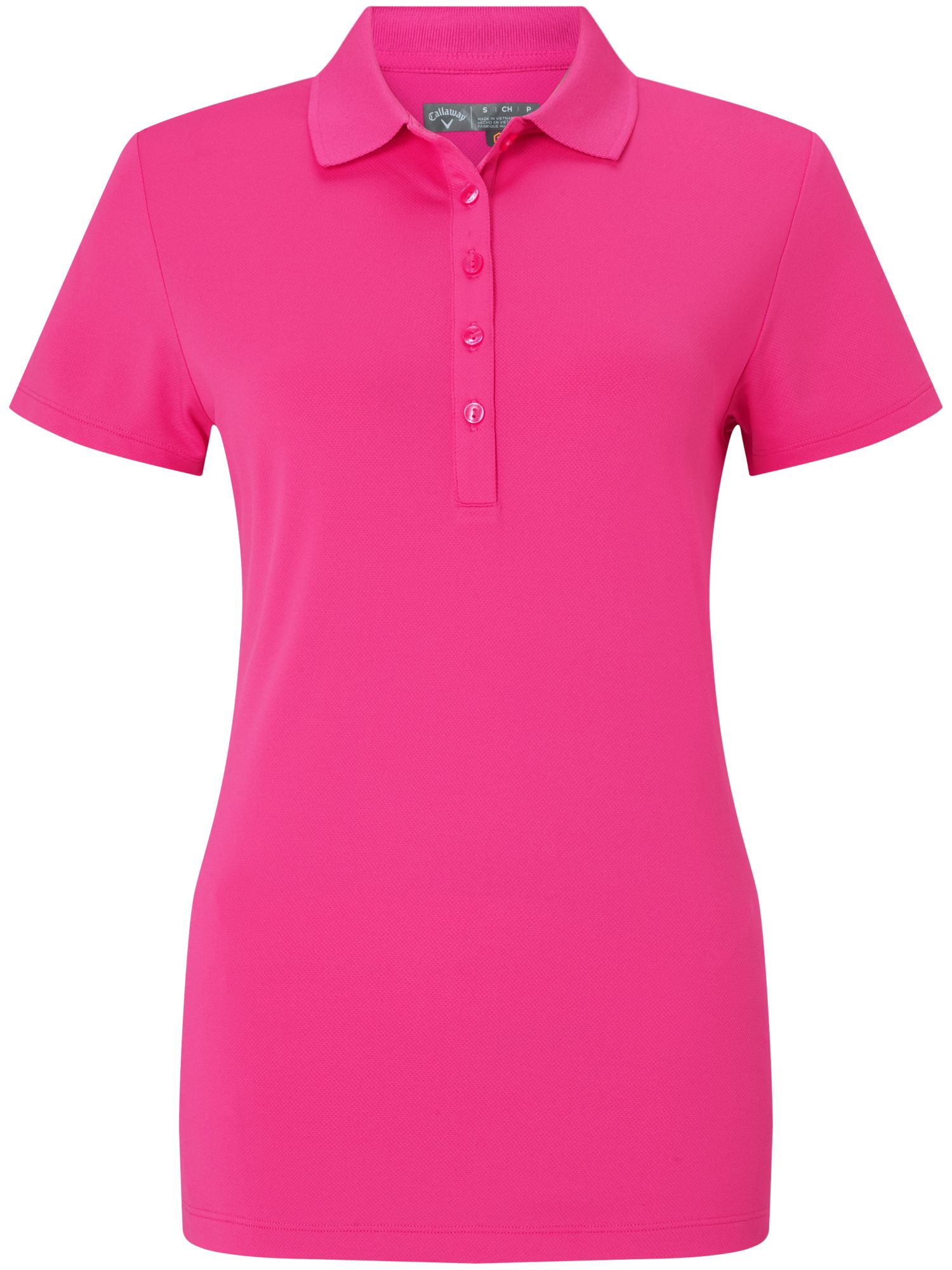 Callaway Hex Polo, Pink