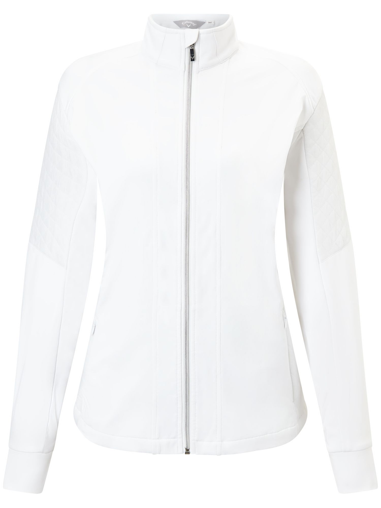 Callaway Quilted Jacket, White