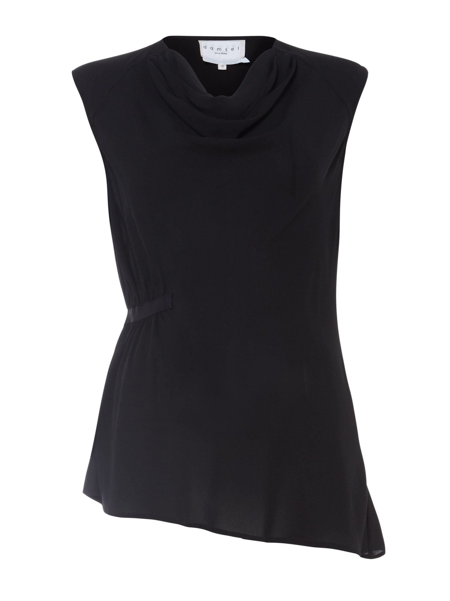 Damsel in a Dress Peregrine Top, Black