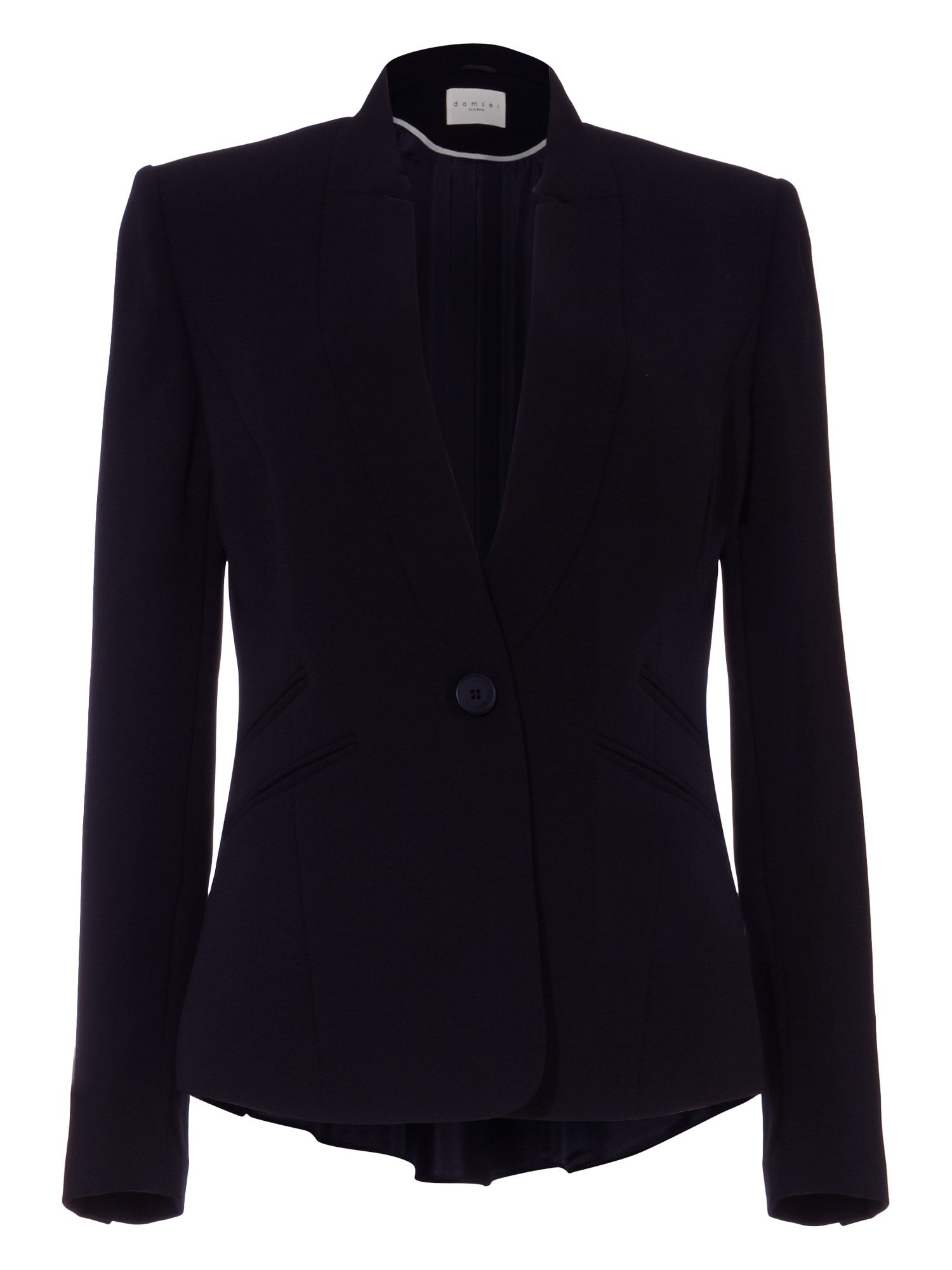 Damsel in a Dress City Suit Jacket, Blue