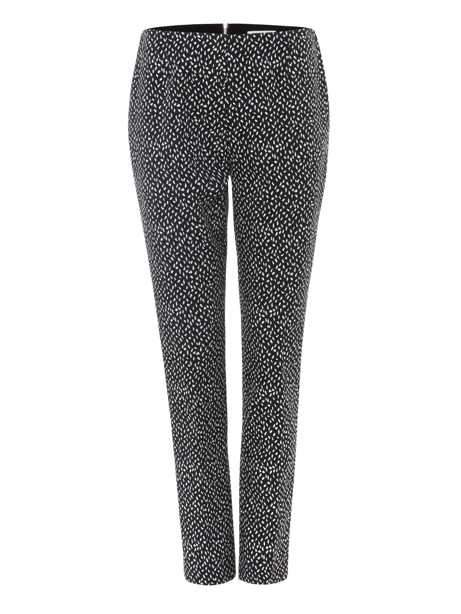 Damsel in a Dress Tribe Jacquard Trousers, Black
