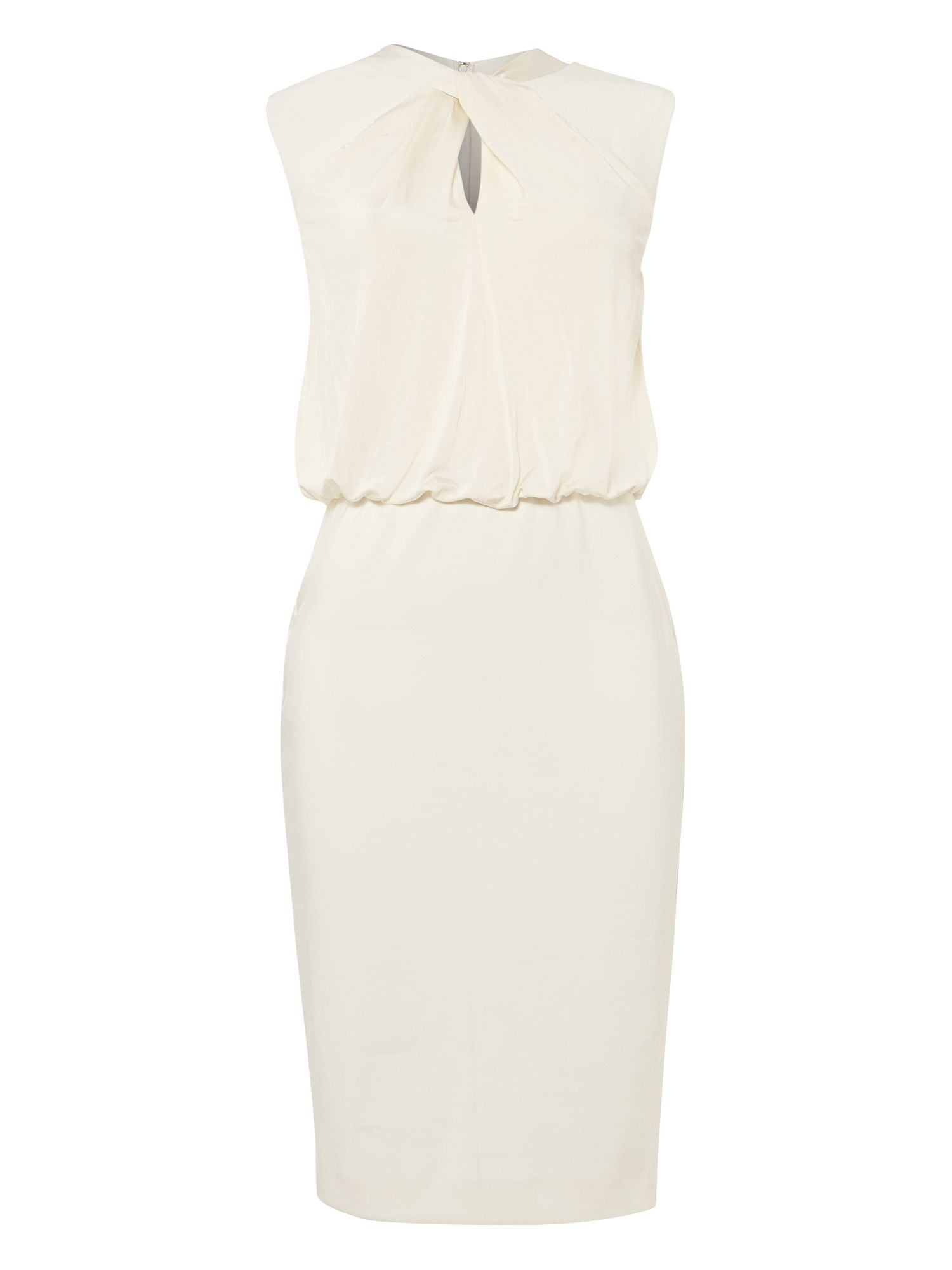 Damsel in a Dress Wisdom Twist Dress, Cream