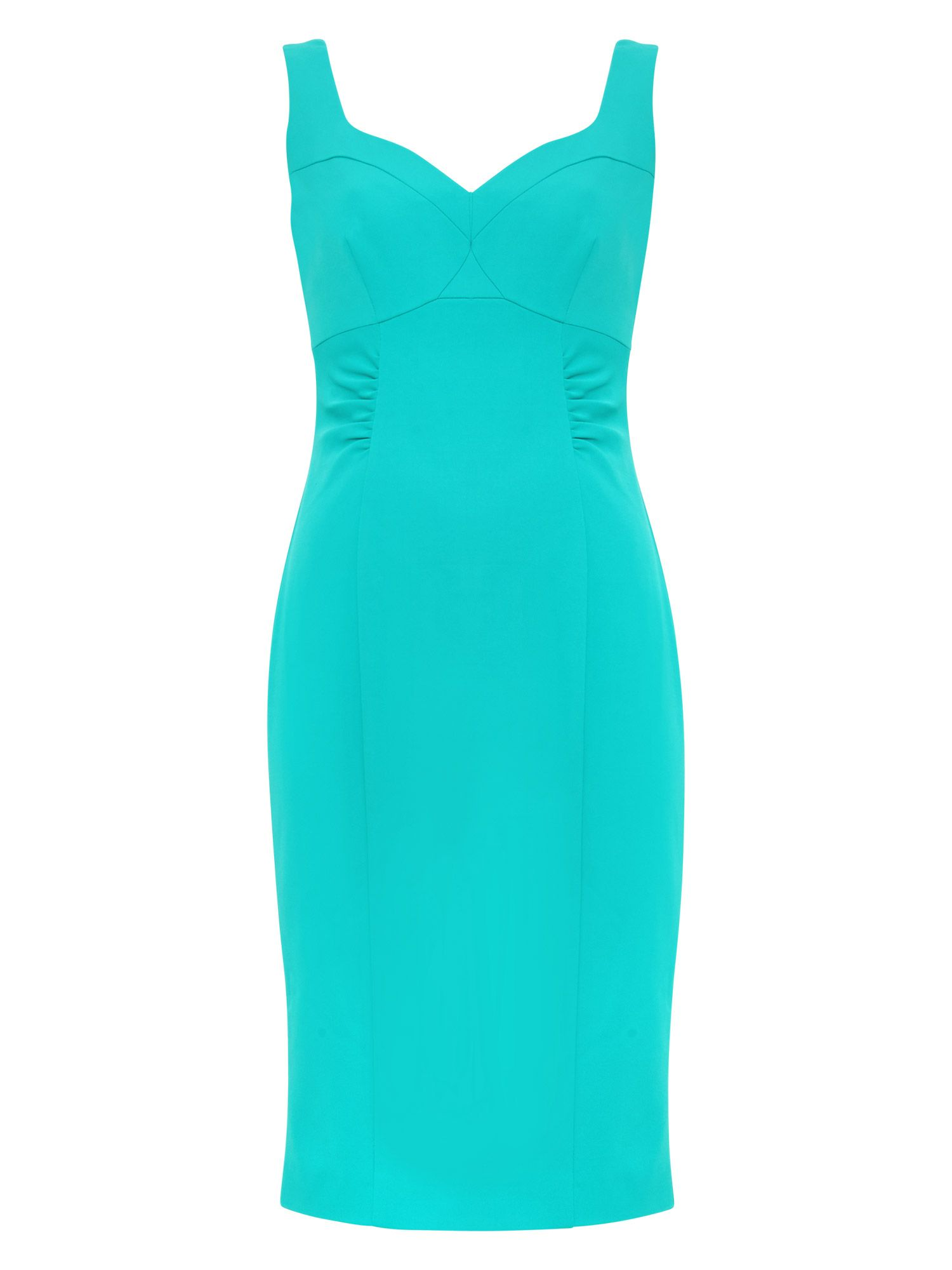 Damsel in a Dress Alicia Fitted Dress, Turquoise