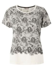 Dorothy Perkins Lace Print Mix and Match Top