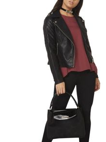 Dorothy Perkins Double Flap Tote