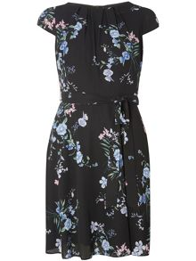 Dorothy Perkins Billie and Blossom Fit and Flare Dress