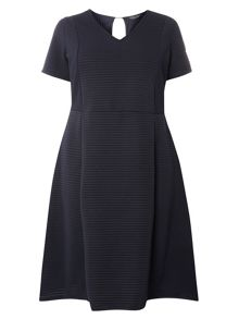 Dorothy Perkins DP Curve Ribbed Fit and Flare Dress