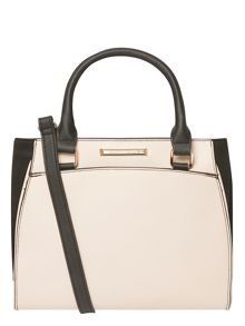 Dorothy Perkins Bone Mini Pipe Tote