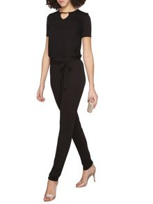 Dorothy Perkins Tall Gold Bar Jumpsuit