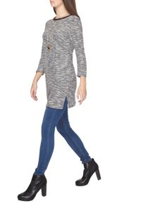 Dorothy Perkins Tall Boucle Tunic Top