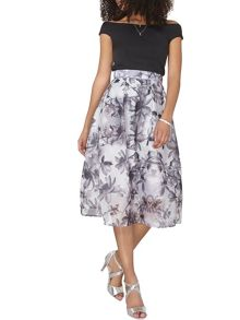 Dorothy Perkins Luxe Floral Organza Skirt
