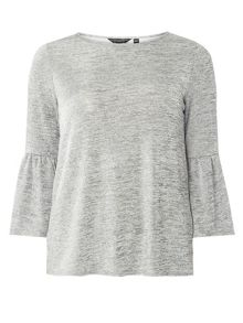 Dorothy Perkins Flute Sleeve 2 In 1 Top