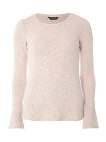 Dorothy Perkins Flute Sleeve jersey Knitted Jumper