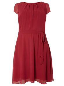 Dorothy Perkins Billie Curve Chiffon Dress