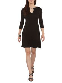 Dorothy Perkins Petite Keyhole Dress