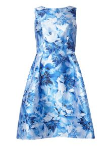Dorothy Perkins Luxe Blurred Floral Prom Dress