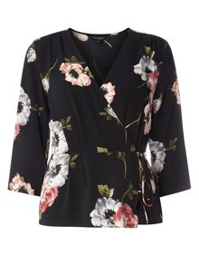 Dorothy Perkins Wrap Top