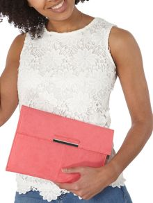 Dorothy Perkins Faux Suede Clutch