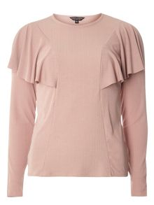 Dorothy Perkins Cape Ruffle Top