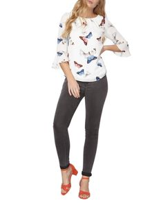 Dorothy Perkins Billie and Blossom Butterfly Top
