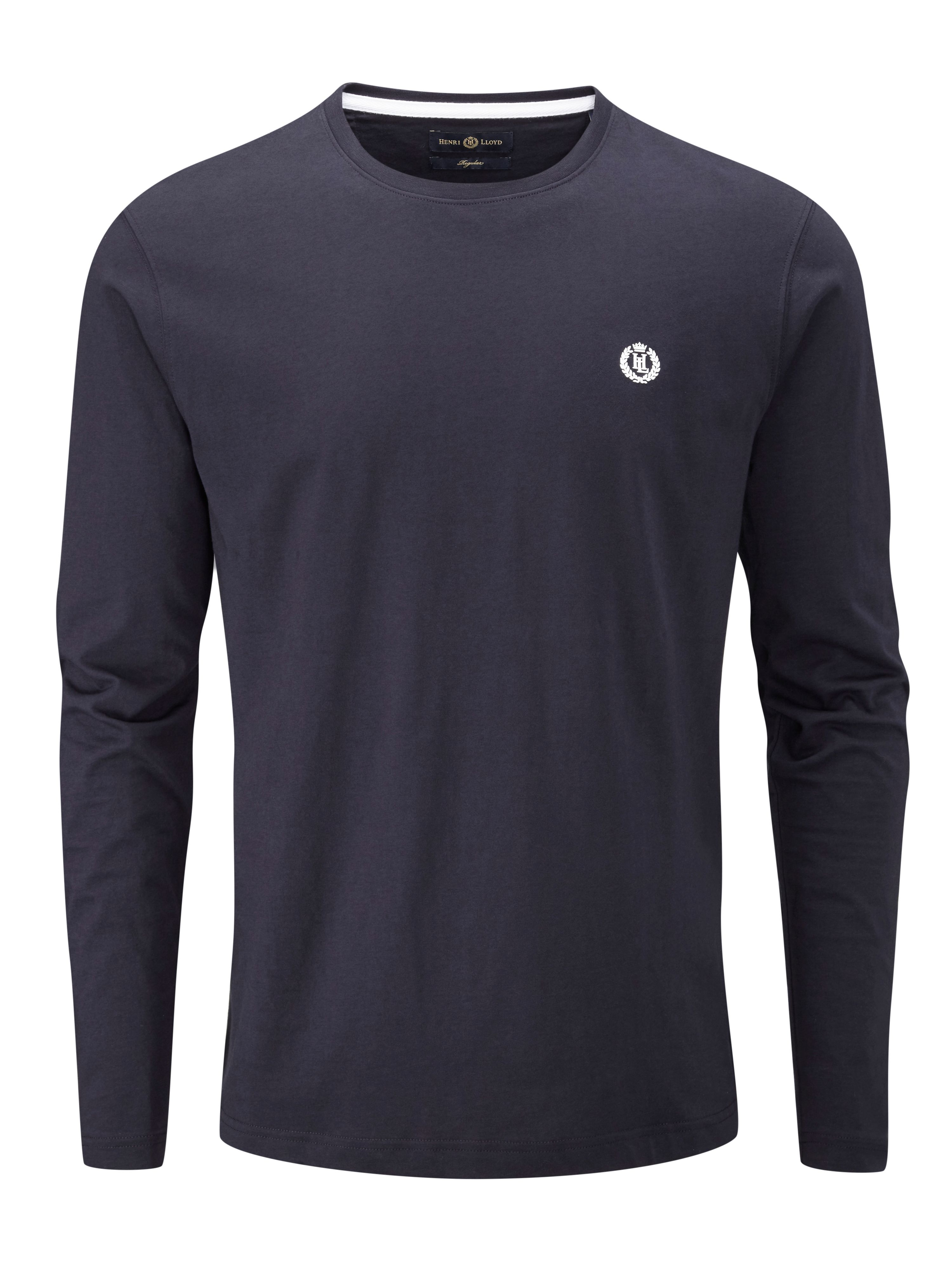 Men's Henri Lloyd Radar Regular Long Sleeve T-Shirt, Blue