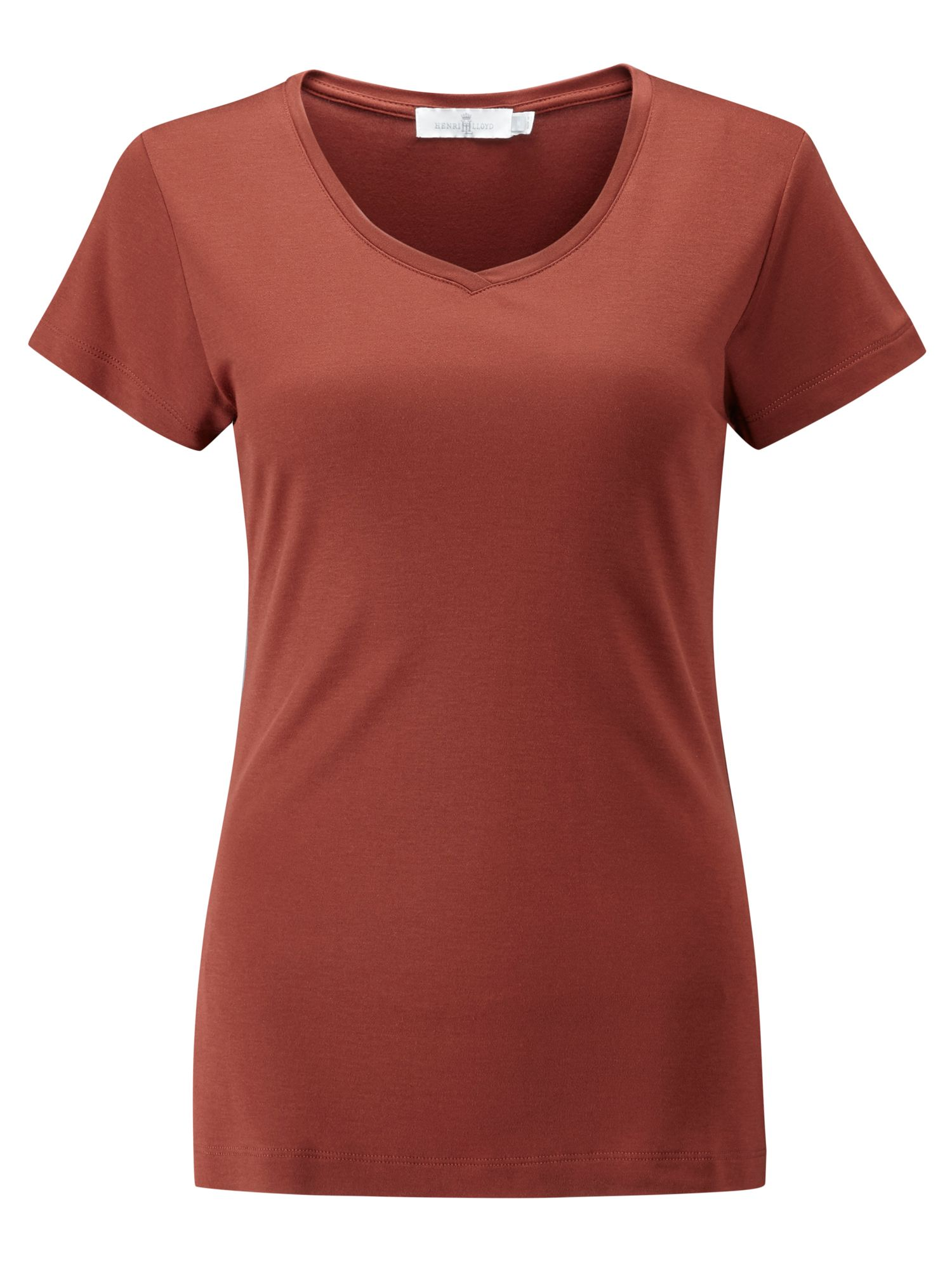 Henri Lloyd Rosa V Neck Tee, Red