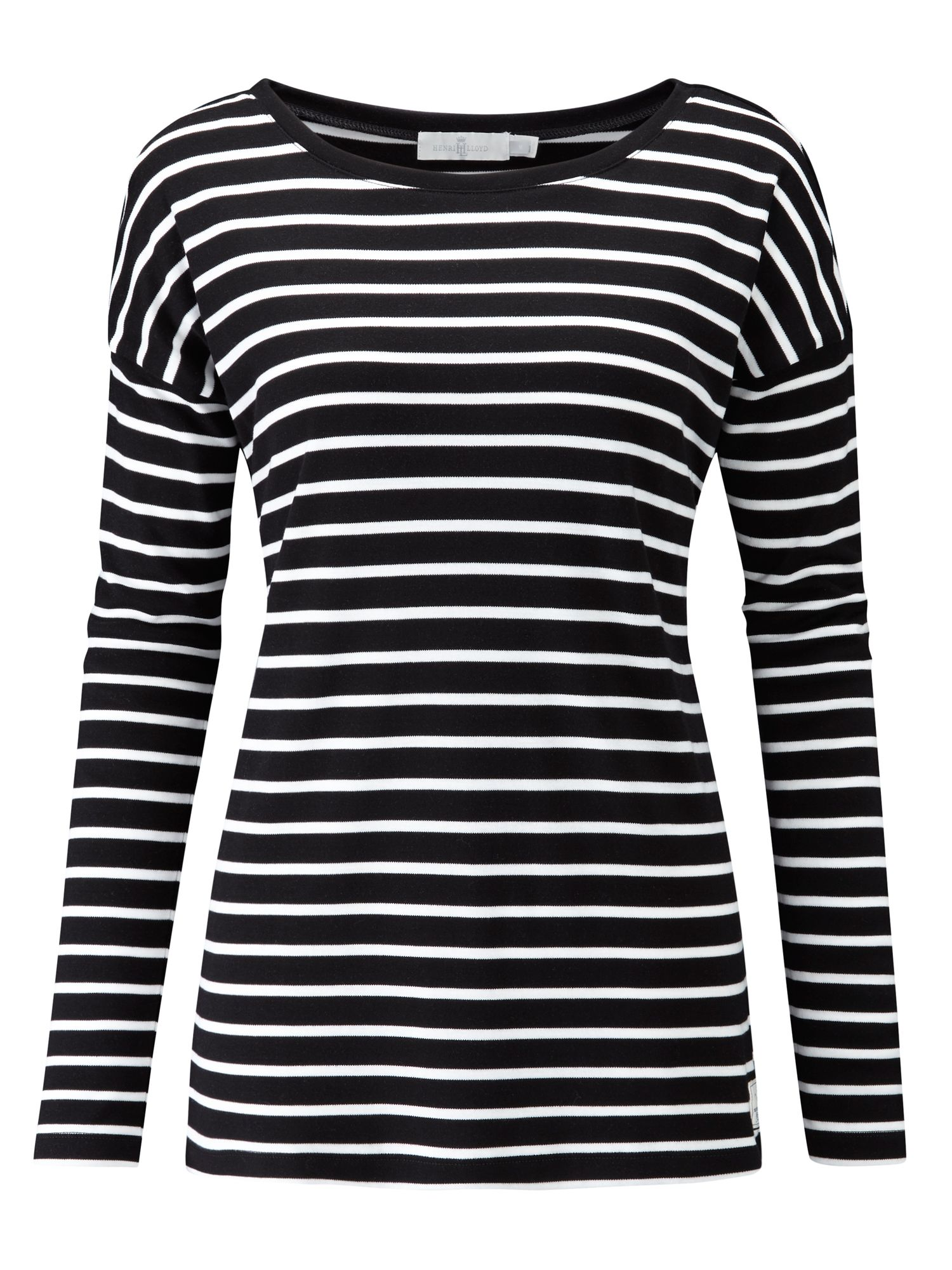 Henri Lloyd Breanna Striped Tee, Black