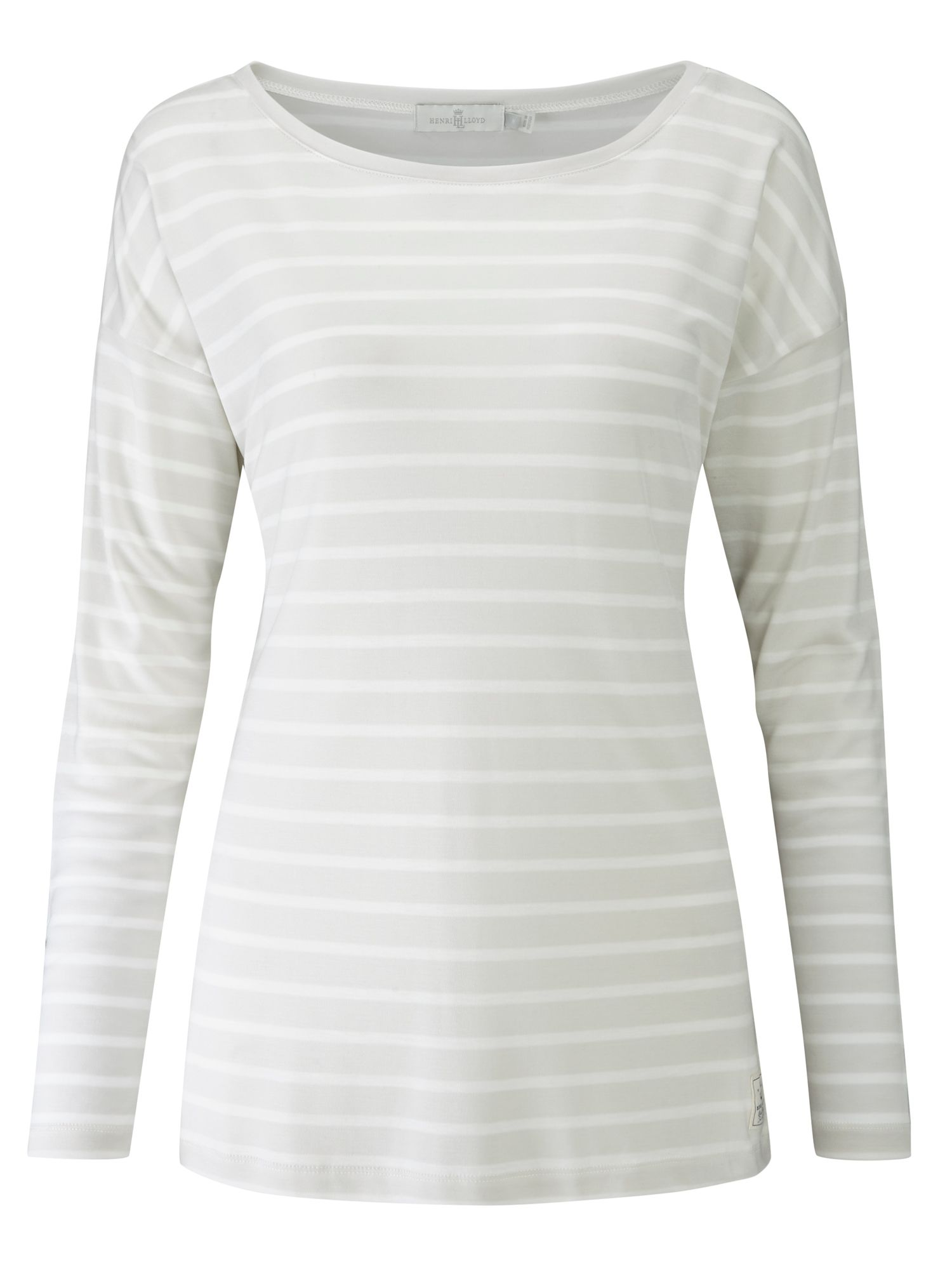 Henri Lloyd Breanna Striped Tee, Grey