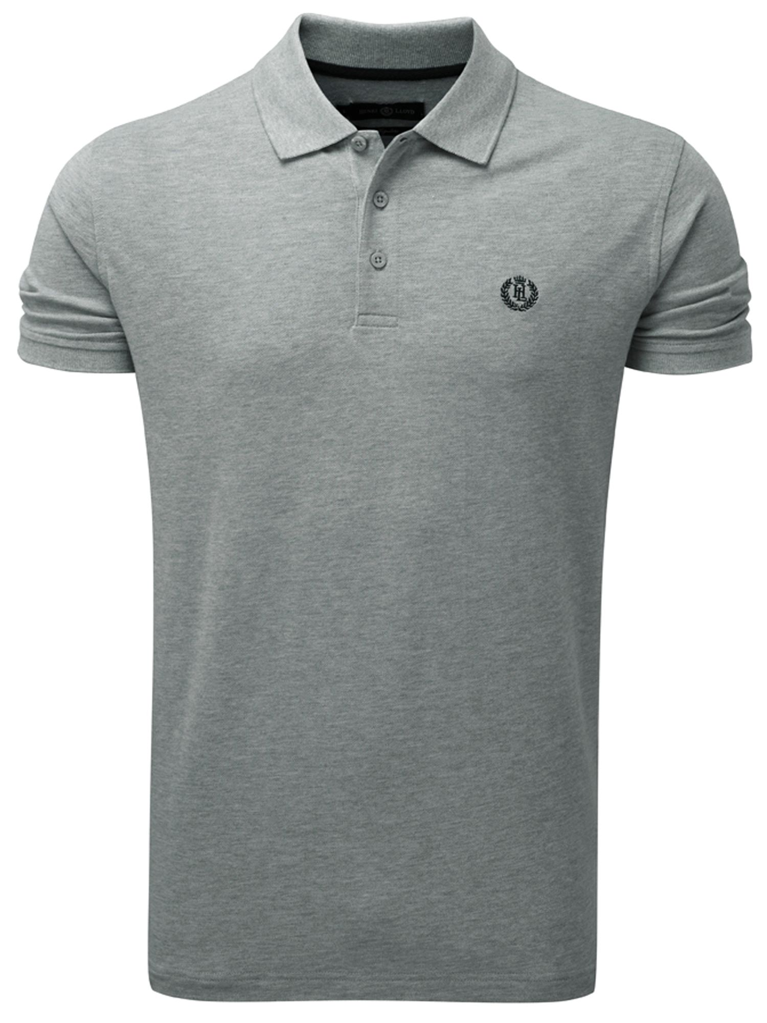 Men's Henri Lloyd Cowes Regular Polo, Grey Marl