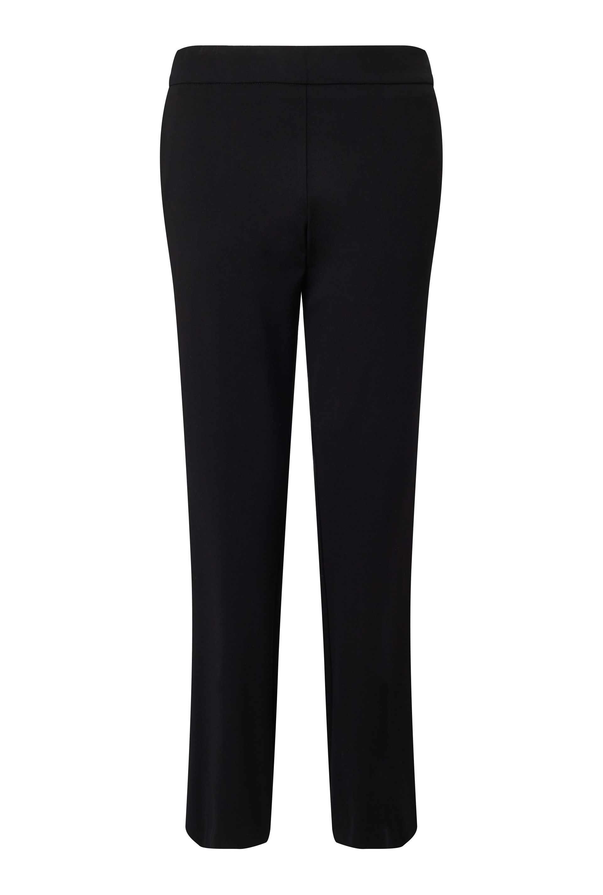 James Lakeland Bow Detail Trousers, Black