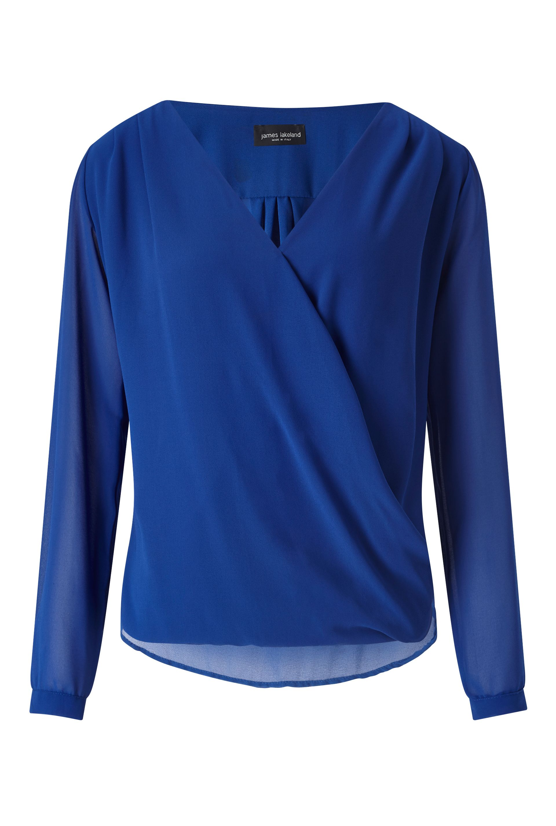 James Lakeland Crossover Blouse, Blue