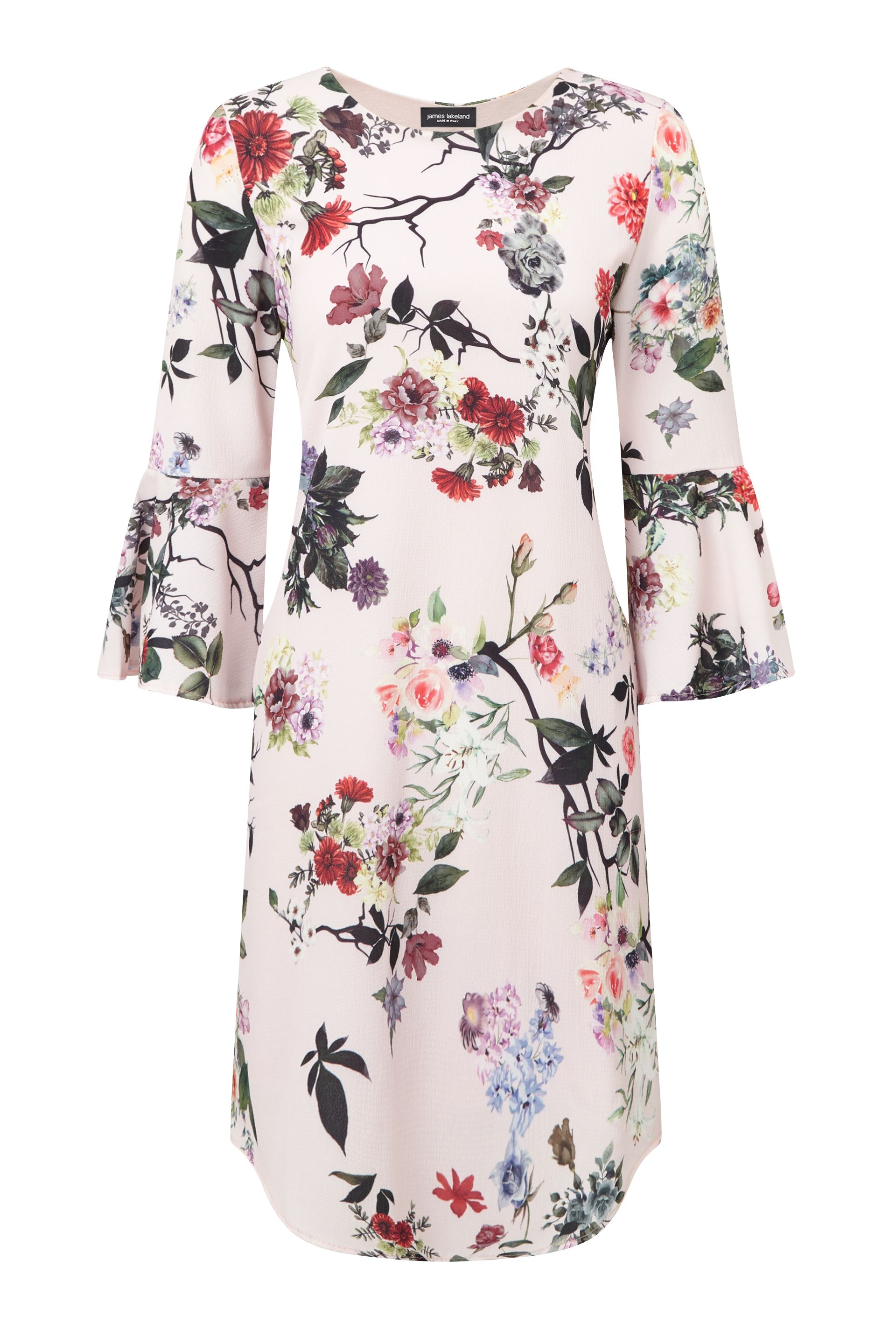 James Lakeland Floral Print Dress, Pink