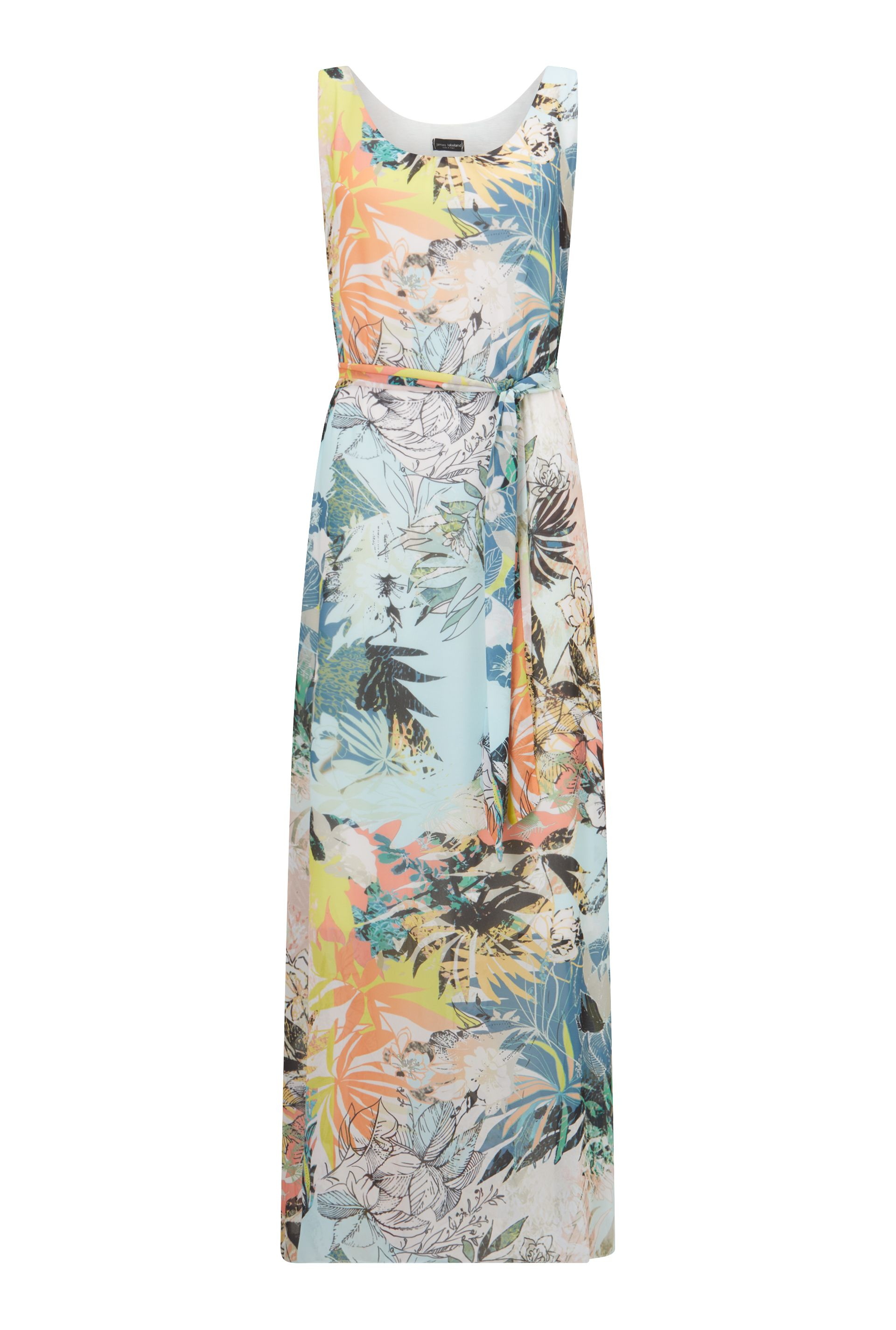 James Lakeland Printed Maxi Dress, Blue