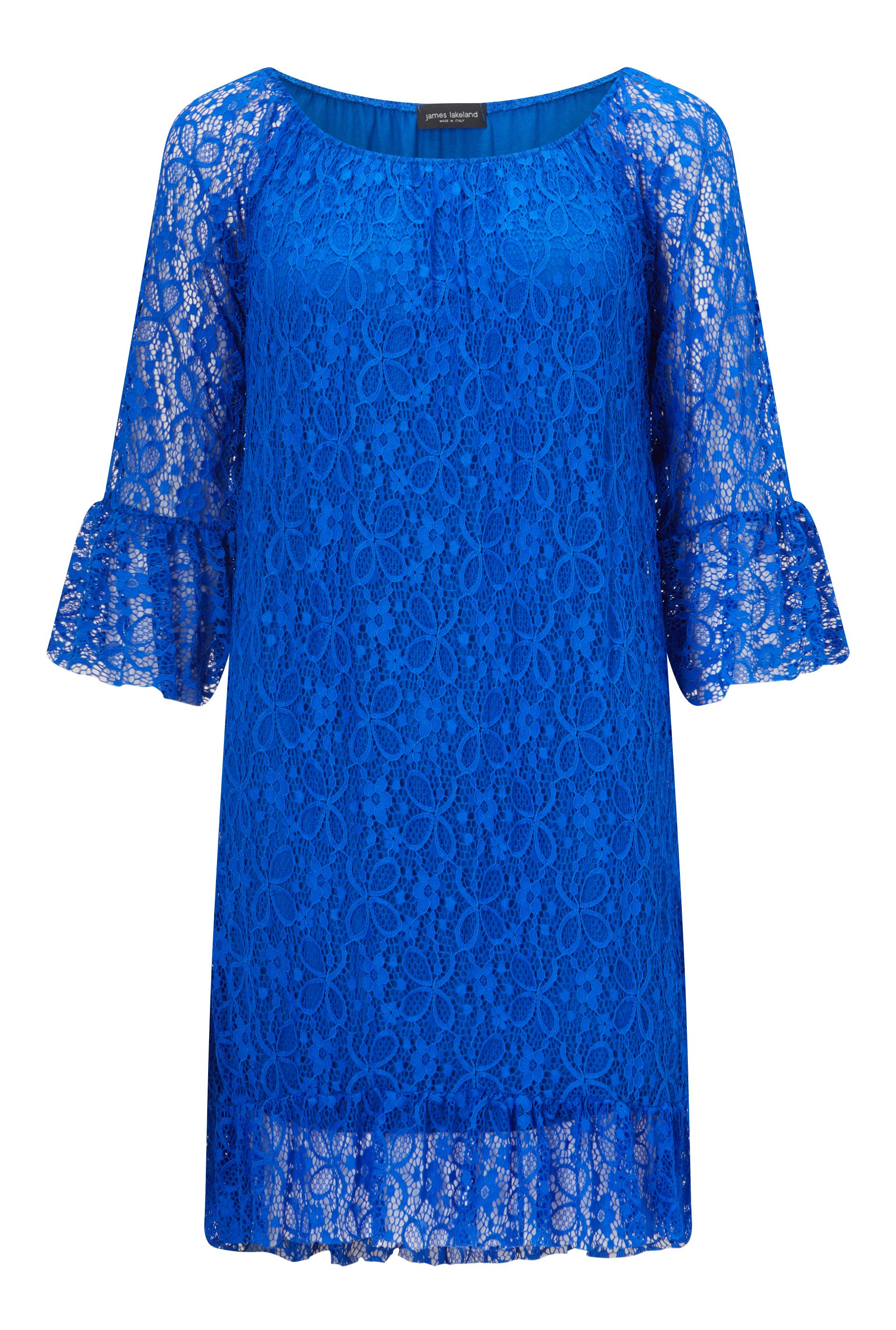 James Lakeland Lace Dress, Blue