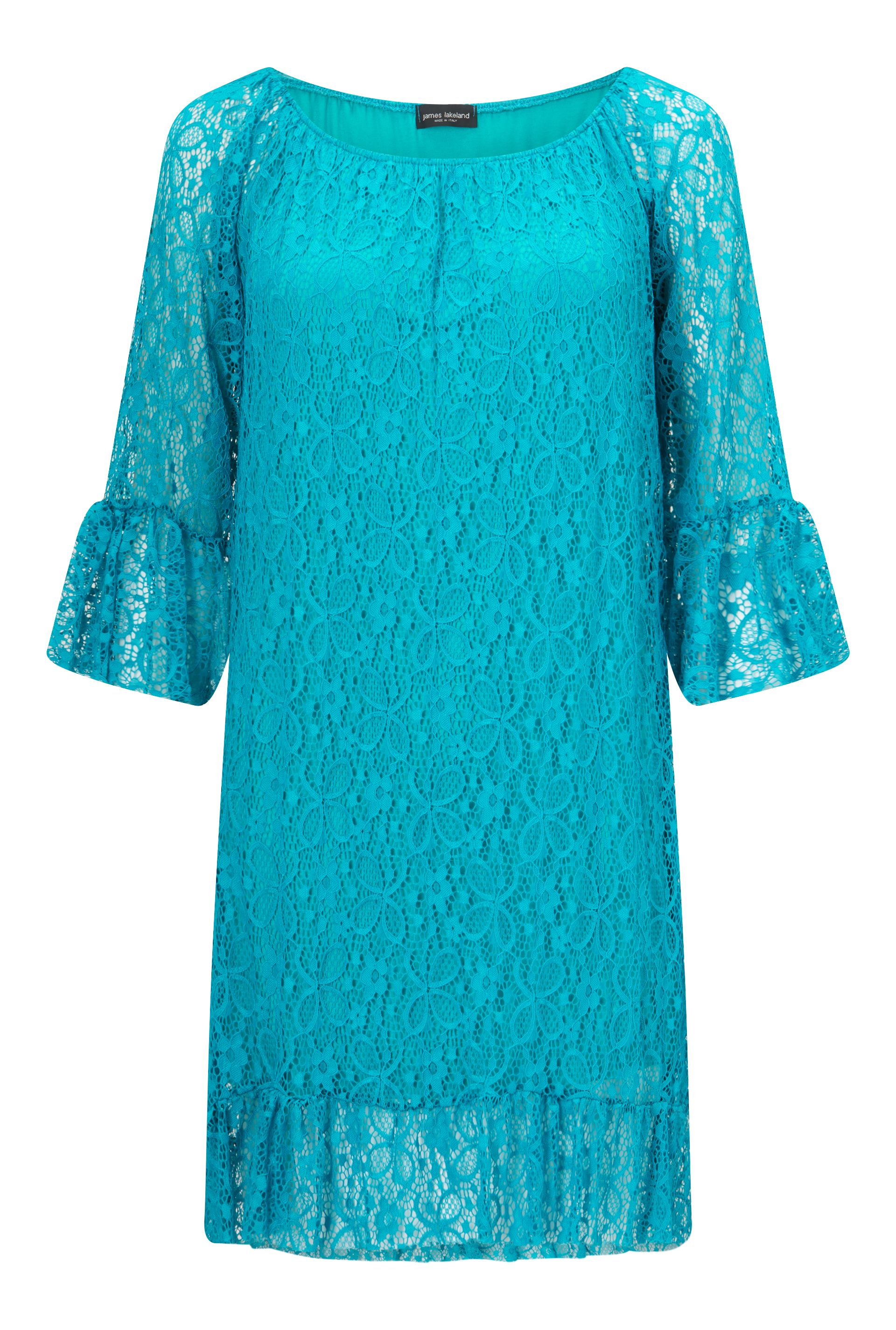 James Lakeland Lace Dress, Green