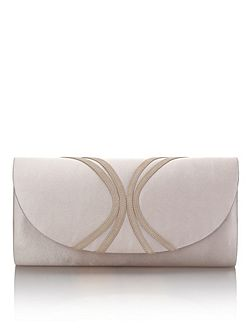 Piped Clutch Bag