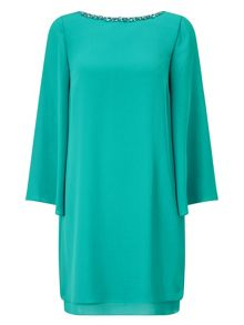 Jacques Vert Petite Embellish Sheath Dress